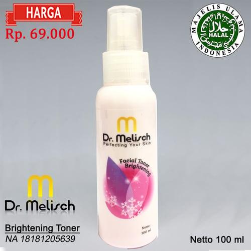 Brightening Toner Dr Melisch Kualitas Terbaik Untuk Pembersih Wajah