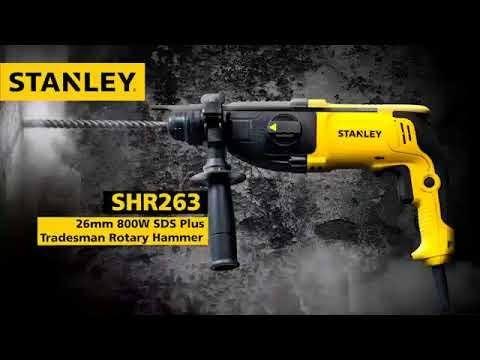 Mesin bor 800W 26mm 3 Modes SDS Plus Rotary Hammers SHR263KA-B1