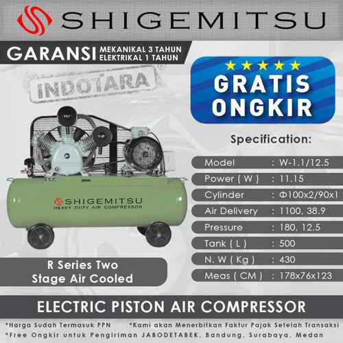 Kompresor Angin Listrik 15 HP/ 12 Bar 500L