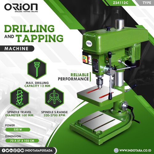 Mesin Bor Duduk Orion Drilling & Tapping Machine ZS4112C