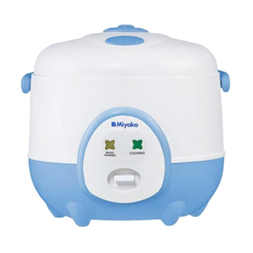 Miyako Magic Com MCM606A / Rice Cooker MCM 606A - Biru - Bubble Wrap 0.6L