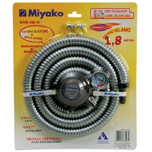 Miyako Paket Regulator dan Selang RMS 106 / RMS106 [1.8 m] - Bubble Wrap