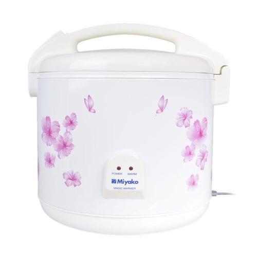 Magic Jar Miyako MJ-709EP Rice Warmer Penghangat Nasi - Putih - Bubble Wrap 7 L