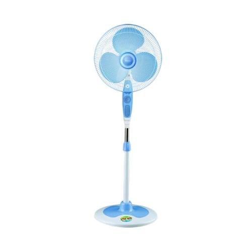 Miyako Kipas Angin KAS 1629 KB / Stand Fan 1629KB - Biru - Bubble Wrap 16Inch