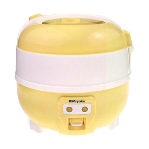 Miyako Magic Com MCM610 / Rice Cooker MCM 610 - Kuning - Bubble Wrap 1L