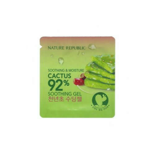Nature Republic Soothing & Moisture Cactus 92% Sachet