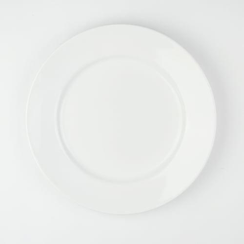 BLANC PORCELAIN Piring Makan Putih diameter 27 cm