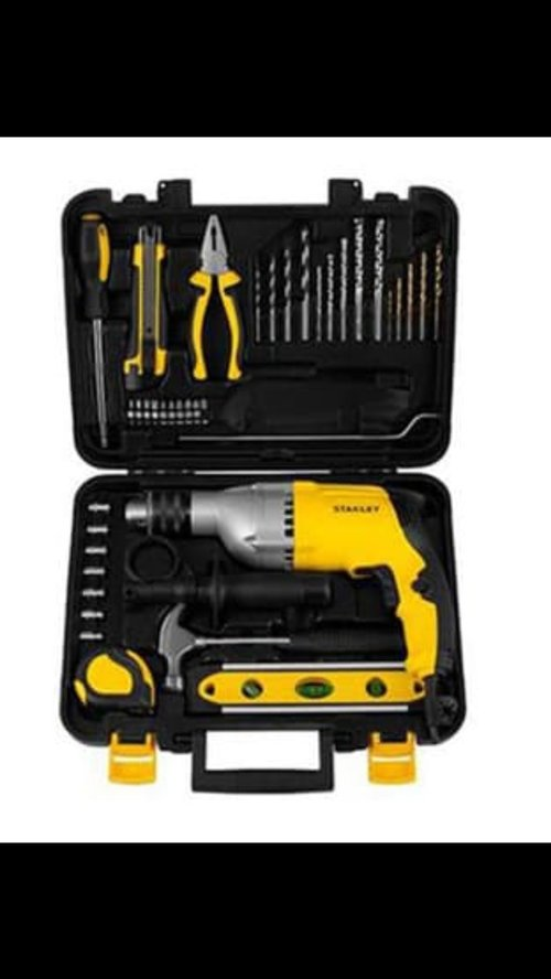 BOR 13mm 720W Percussion Drill - Value Pack STDH7213V-B1