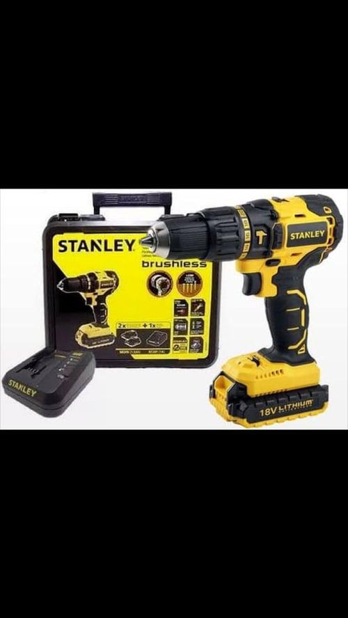 Mesin bor tangan 18V Brushless Hammer Drill Stanley SBH201D2K-B1