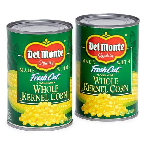 DELMONTE Whole Kernel Corn USA 425gr - isi 24pcs