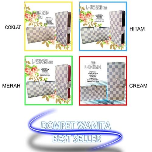 Super wallet wanita murah l-vice azur