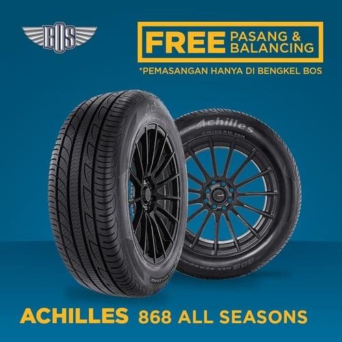 ACHILLES Ban Mobil 868 All Seasons 185/70 R14 88H TUBELESS GRATIS JASA PASANG