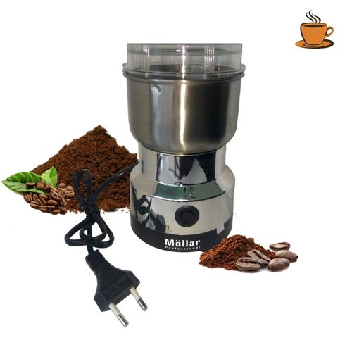 mollar Mini coffee grinder gilingan kopi bumbu dapur