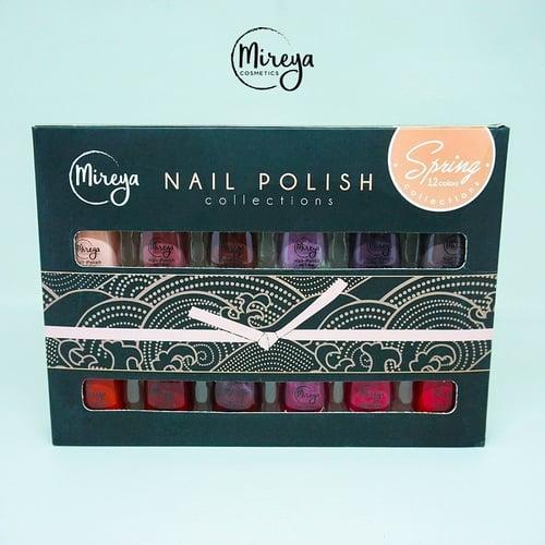 Mireya Nail Polish Gift Set Spring Isi 12 Warna