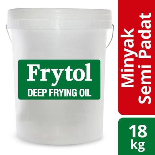 Frytol Fryng Oil Minyak Semi Padat - isi 18kg