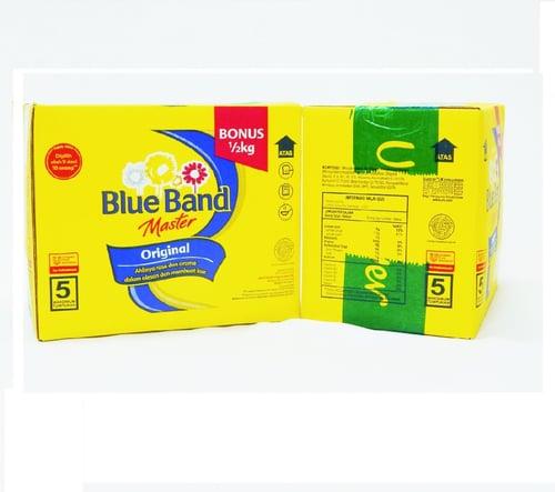 Blue Band Box 4.5kg - isi 4pcs