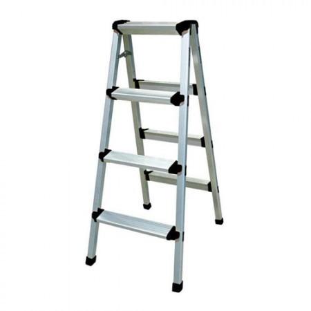 KRISBOW KW0101837 Step Ladder W/O HDL 3 Step 0.8M Aluminium type:KW0101838