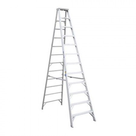 KRISBOW KW0103703 Step Ladder Heavy Duty 6 Step Aluminium