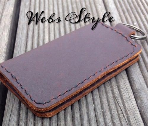 Dompet STNK Mobil dan Motor Kulit Premium / Gantungan Kunci Kulit Handmade