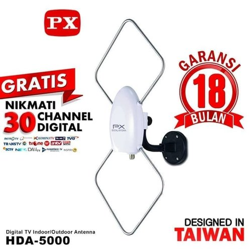 antena tv digital luar dan dalam Antenna Indoor Outdoor PX HDA