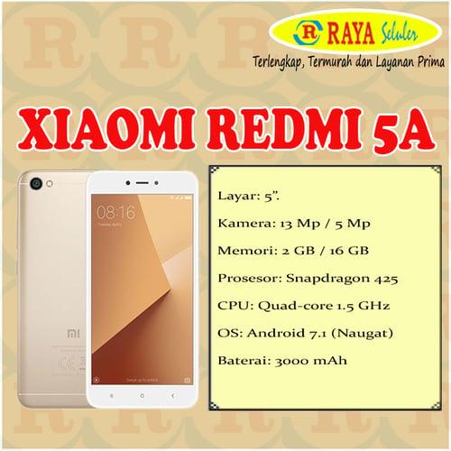 Xiaomi Redmi 5A - Garansi Resmi TAM