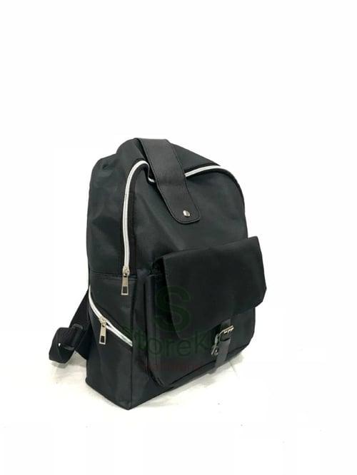 pratunam max Backpack Wanita Casual Agya Hitam