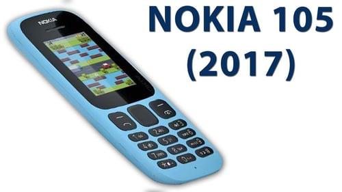 NOKIA 105 New 2017-  Garansi Resmi 1 Tahun