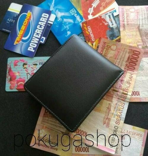 dompet kulit pria asli / keren / simpel / asli kulit sapi /asli garut