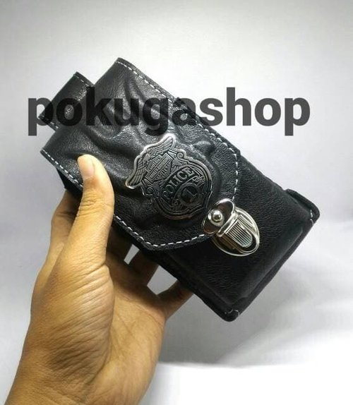 dompet hp / sarung hp police sulam tangan asli garut