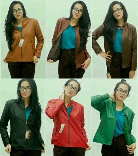 PROMO MURAH! Jaket Oscar Wanita Dengan Pilihan Warna