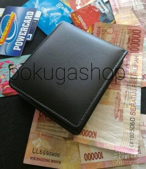 dompet kulit brown and black series murah meriah