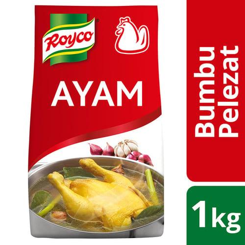 Royco Bumbu Pelezat Rasa Ayam 1kg - isi 6pcs
