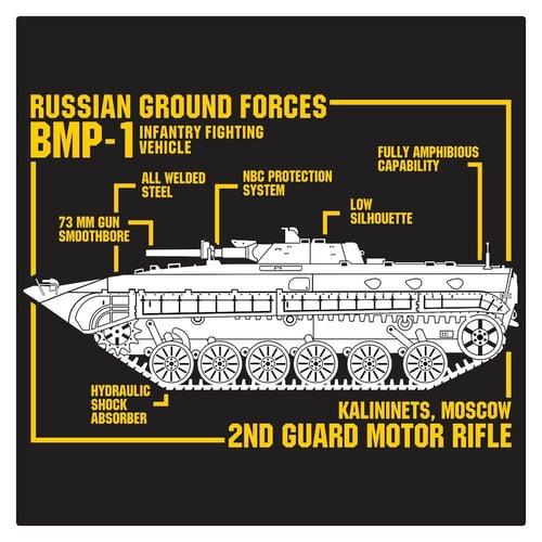 Russian BMP-1 Cutting Sticker