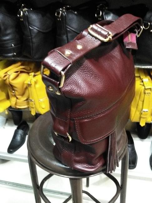 Tas kulit untuk wanita , warna merah marun asli garut ARYAN P.P - Maroon