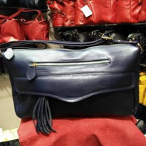 Tas kulit untuk wanita , model KANOPI size L asli garut code AP. 3007 - Maroon