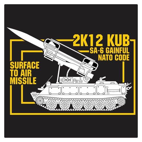 Russian SA-6 Gainful 1 Cutting Sticker