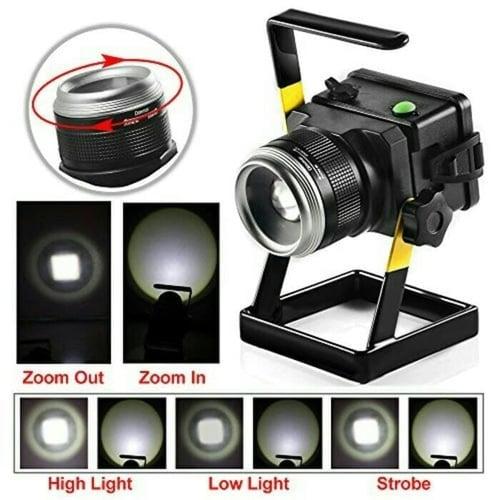 Lampu Sorot Portable 100w - Lampu Tembak Portable