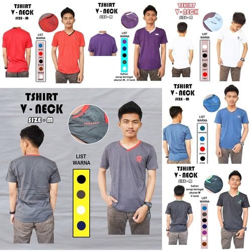 Baju Pria Tshirt street V neck