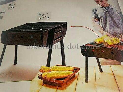 Pemanggang Portabel Maspion Multi square grill pan 50 panggangan bara
