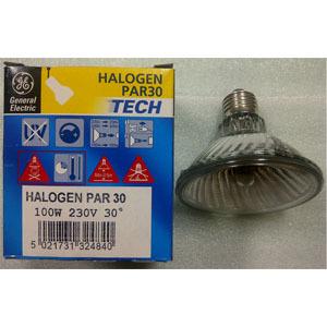 halogen 100watt PAR30 30degree 230v  - 73