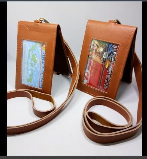 HARGA PROMO! card holder /id card kulit premium/name tag kulit