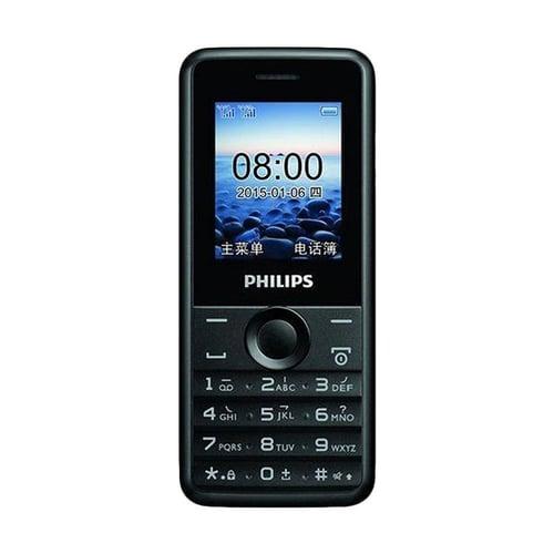 Philips E103 Handphone - Black
