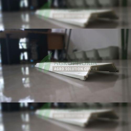 Talang Gully hidroponik Trapesium 1,2 m