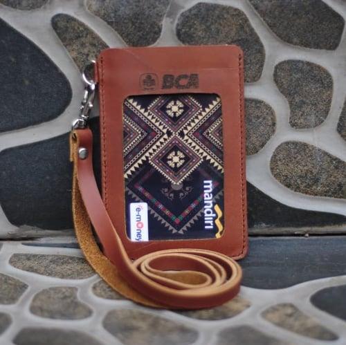 PROMO MURAH Id Card Holder Kulit Pegawai Bank BCA