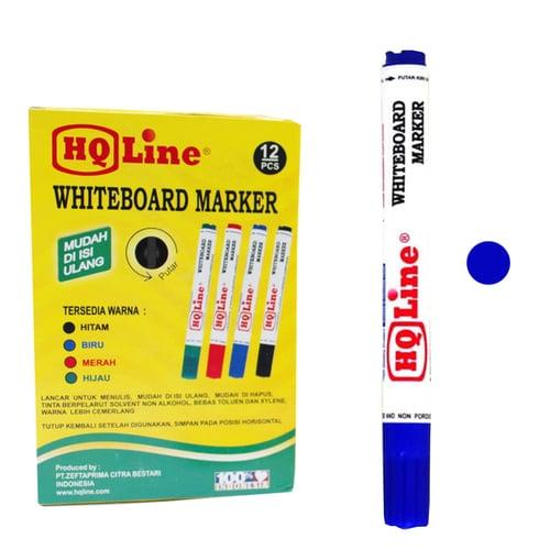 HQ Line Whitteboard Market - Spidol Blue