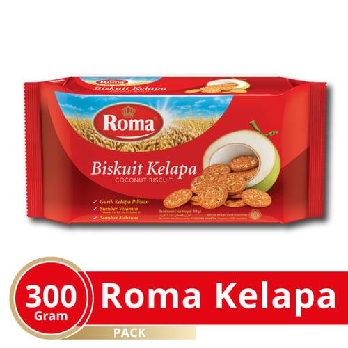 ROMA Biskuit Kelapa 300 gr Karton