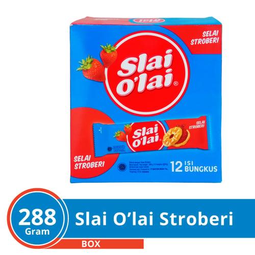 Roma Slai OLai Strawberry 12 Sc x 24 Gr Karton