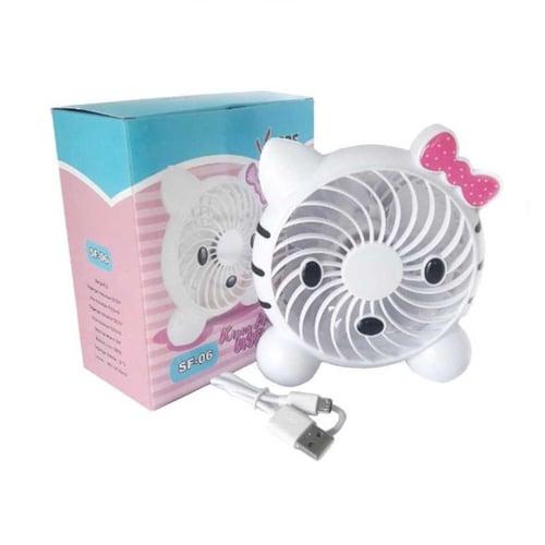 Kipas Mini Hello Kitty Votre SF 06 - Pink