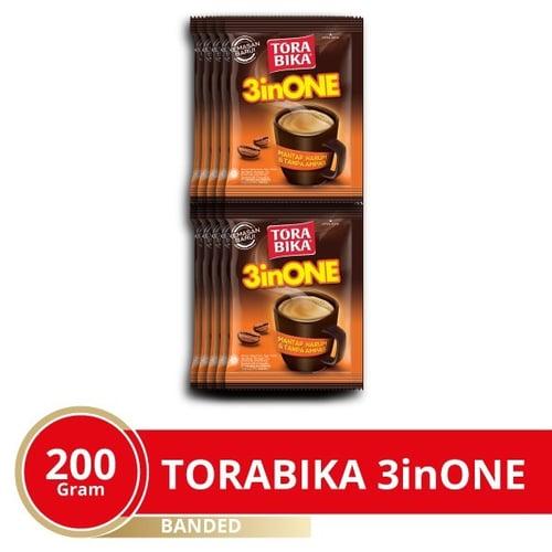 Torabika 3 in 1 NEW 12 Banded 10 Sachet 20G Karton