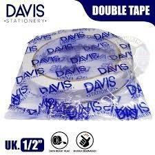 DAVIS Double Tape 1/2 Inch